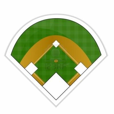 baseball field , Free clipart download.