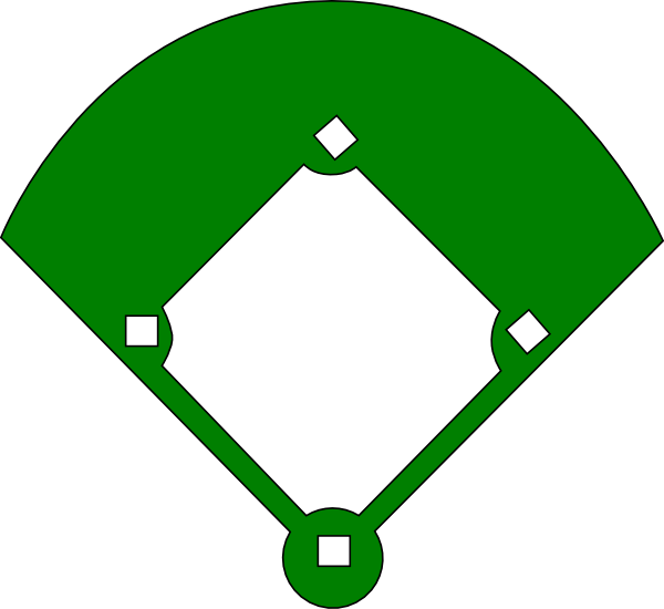 Free Blank Baseball Diamond, Download Free Clip Art, Free.