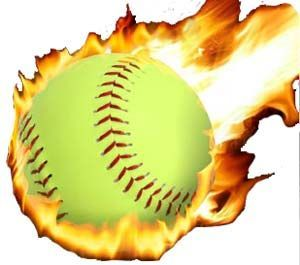 Softball name tags on softball clip art and fastpitch.