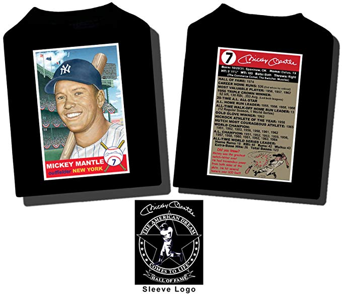 Mickey Mantle Baseball Card T.