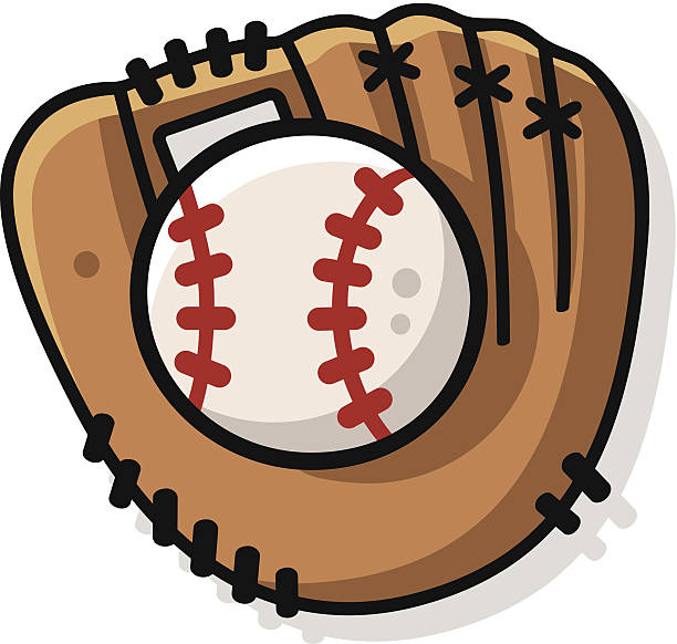 Best Baseball Glove Illustrations, Royalty.