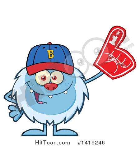 Baseball Fan Clipart #1.