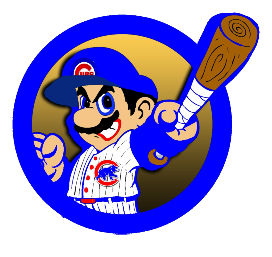 Chicago Cubs Baseball Fan Cubbies Funny Things Clipart Png.