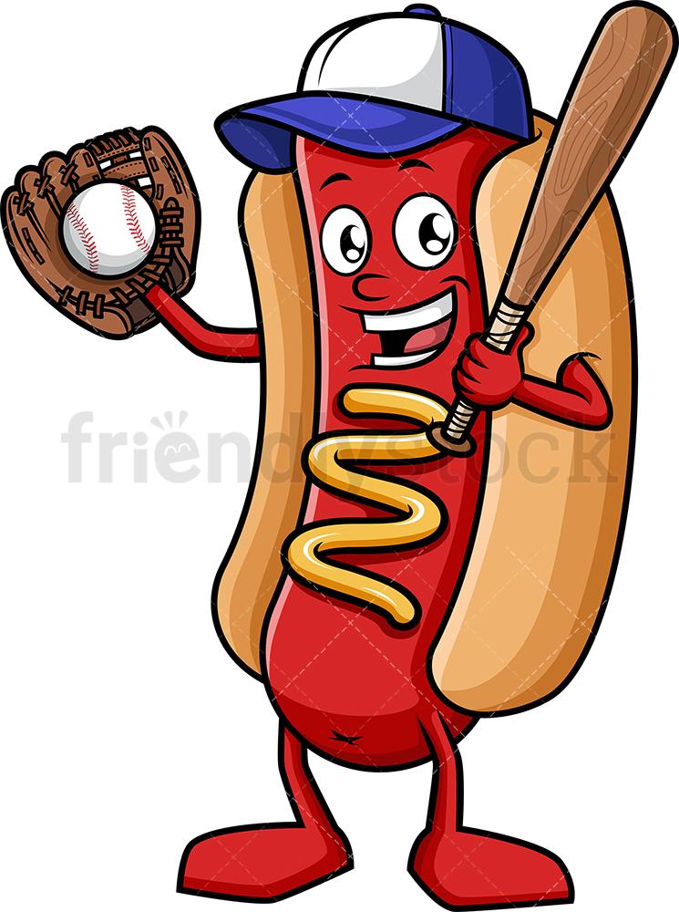 Baseball Fan Hot Dog.