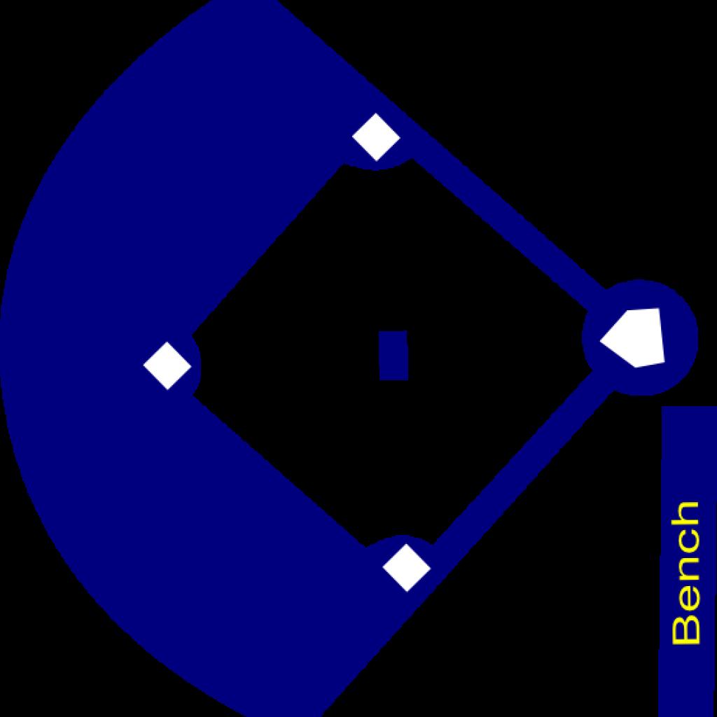 Baseball Field Clipart Baseball Field Navy Clip Art.