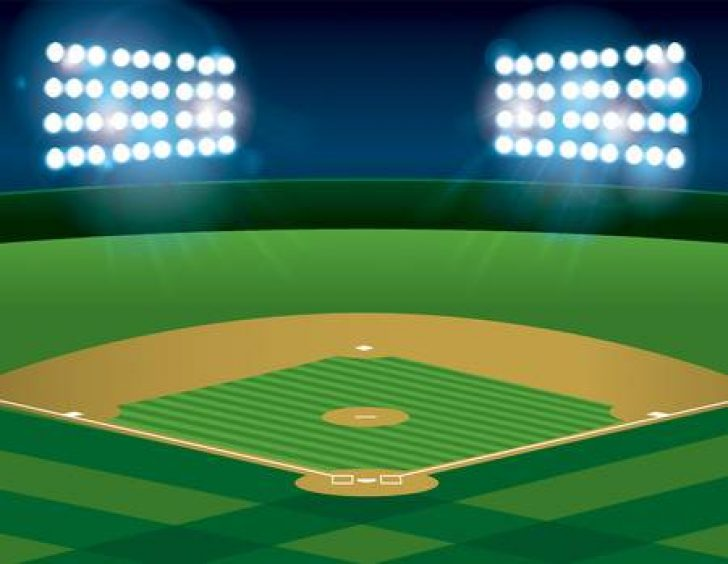clip art of baseball field.