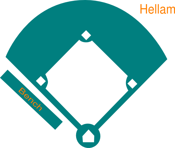 Baseball Field Clipart.
