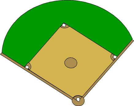 Best Baseball Field Clip Art #4784.
