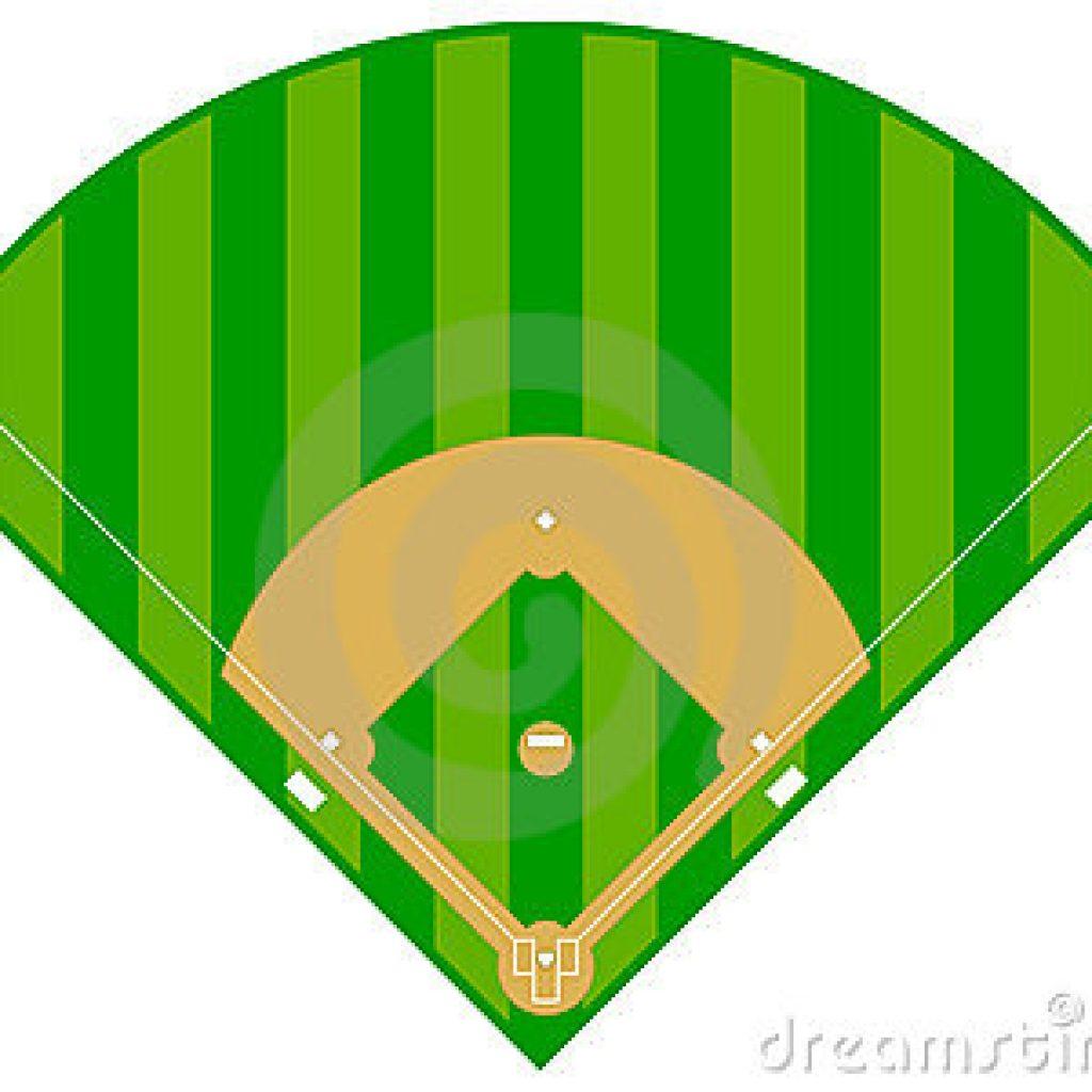 Baseball clipart baseball field, Baseball baseball field.