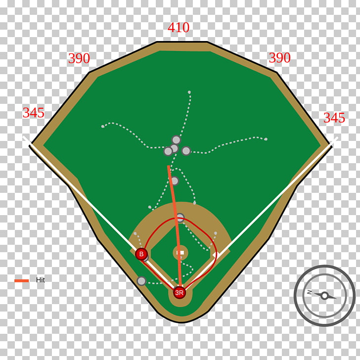 Fenway Park Petco Park Baseball field Home run, baseball PNG.