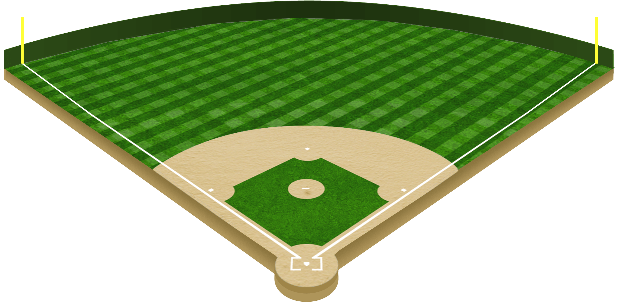 Download Free png Download Baseball Diamond Png Baseball Field.