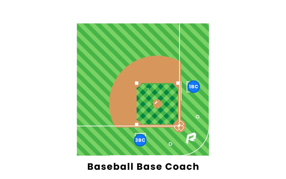 baseball base coach.