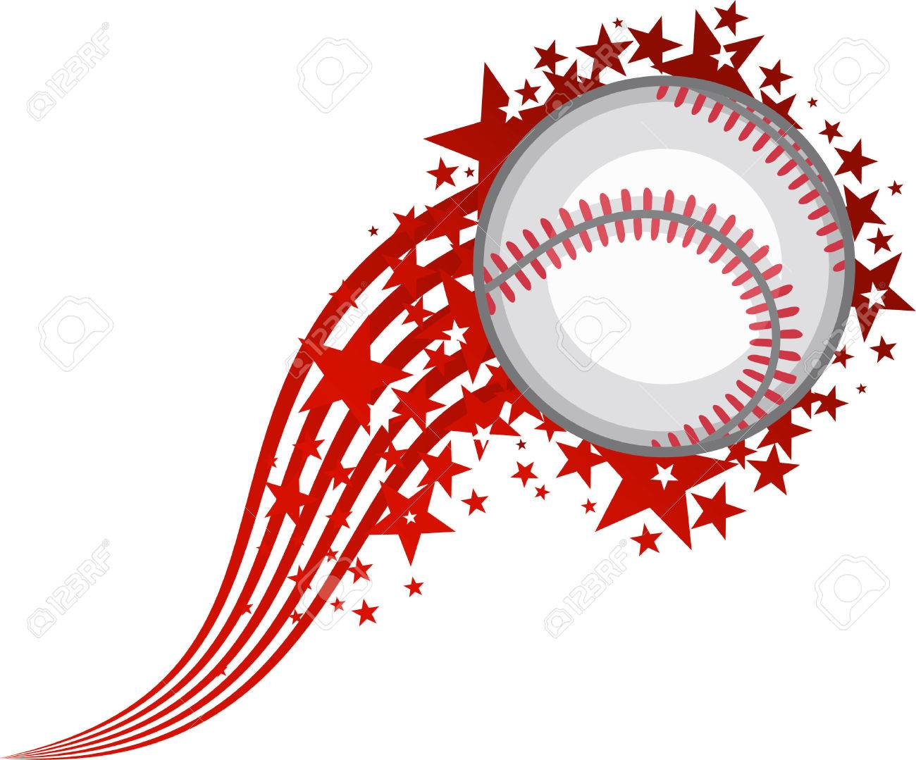 Flying baseball clipart 7 » Clipart Station.