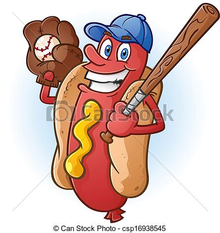 Baseball Food Clipart.