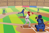 Baseball game Clipart Royalty Free. 9,309 baseball game clip art.