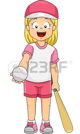 1,200 Baseball Girl Stock Illustrations, Cliparts And Royalty Free.