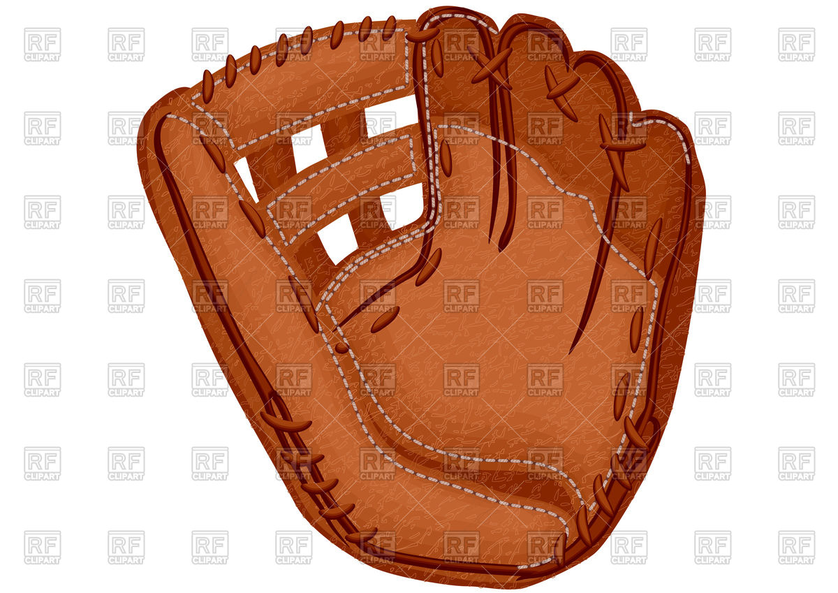 Baseball Glove Clipart Free.
