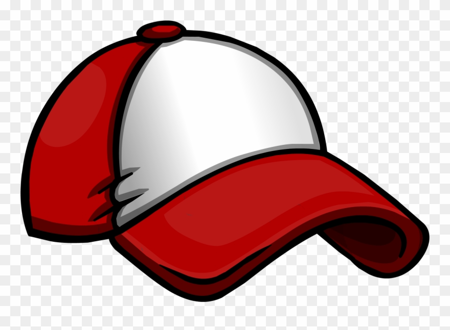 New Player Red Baseball Hat Clipart (#3076469).