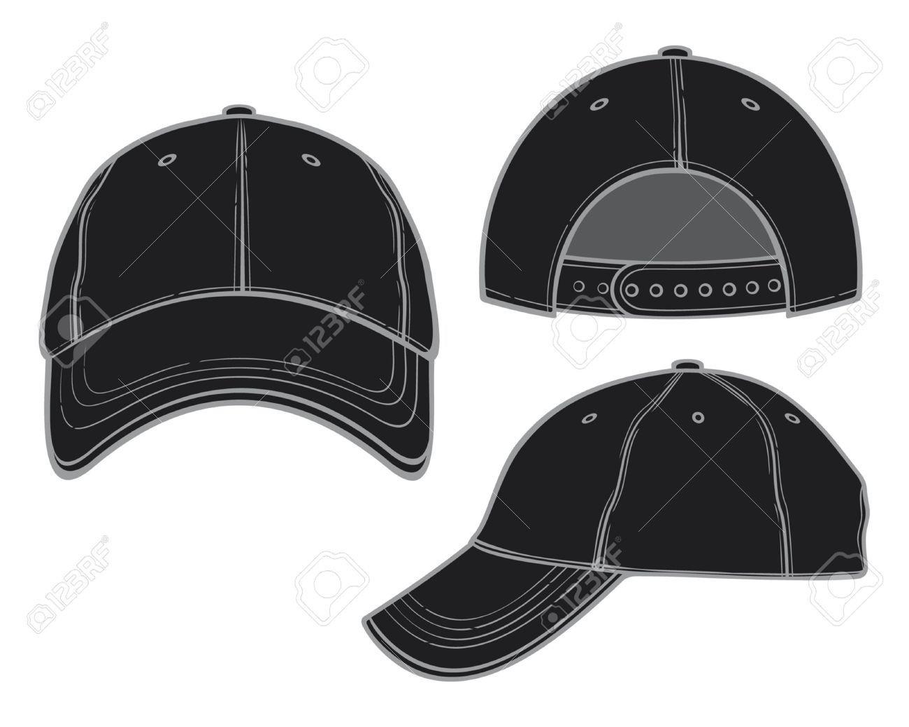 Backwards baseball cap cap clipart backwards hat pencil and.