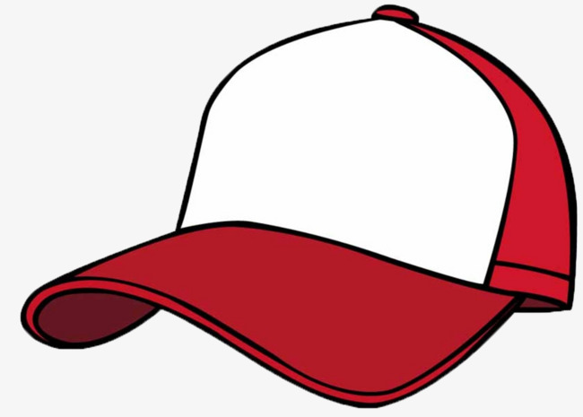 Cartoon Baseball Cap, Baseball Clipart, Cartoon Clipart, Baseball.