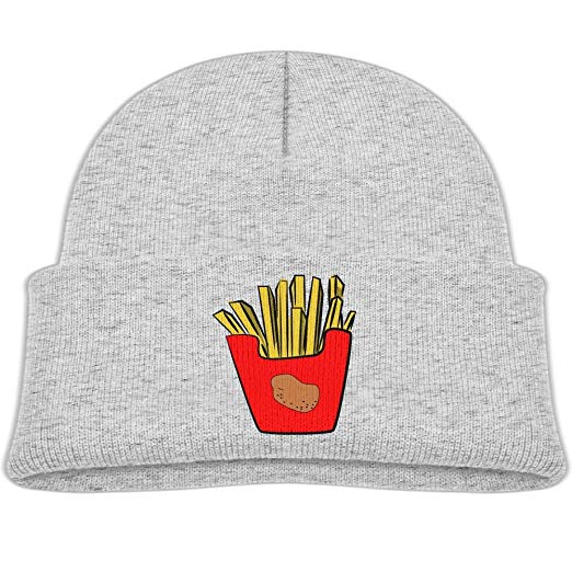 Amazon.com: Fashion French Fries Clipart Kid Knit Beanies.