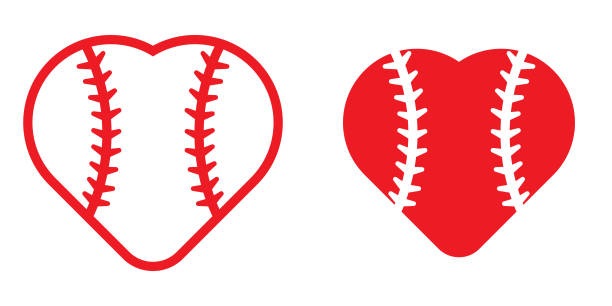 Heart Shaped Baseball Clipart (89+ images in Collection) Page 3.