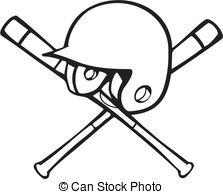 Batting helmet Vector Clip Art EPS Images. 240 Batting.