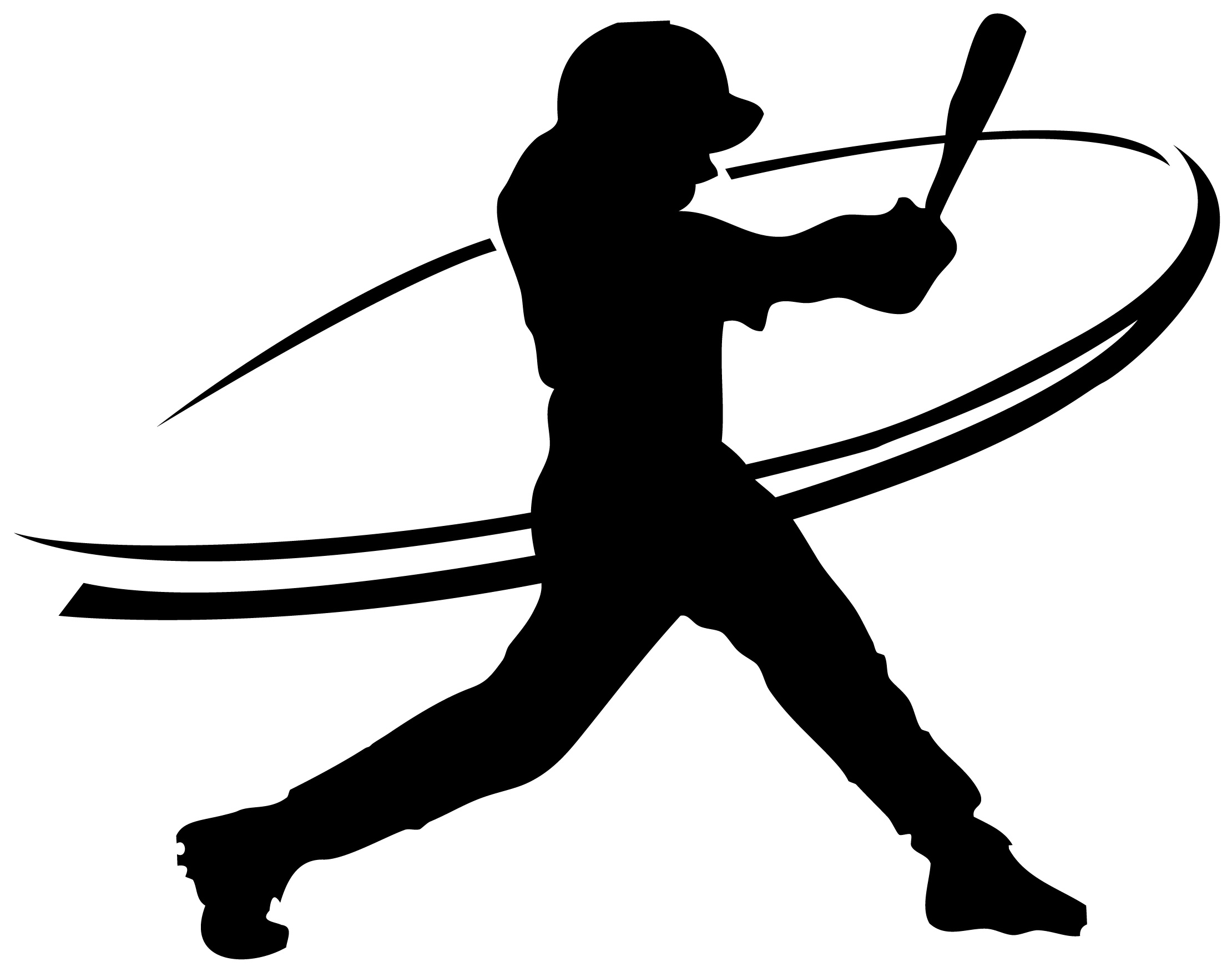 Free Baseball Hitter Silhouette, Download Free Clip Art.