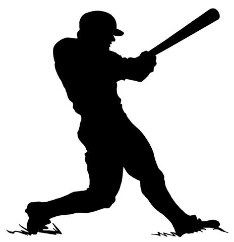 Free Baseball Hitter Silhouette, Download Free Clip Art.