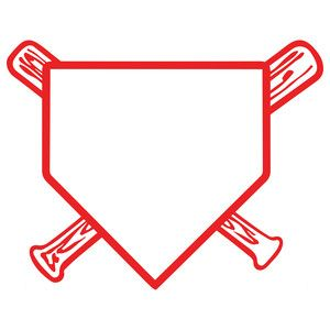 baseball home plate.