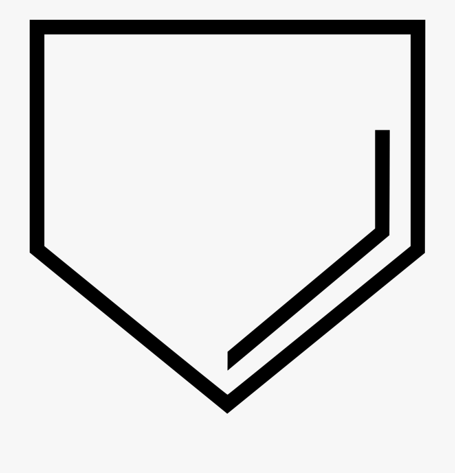 Baseball Home Plate Clipart , Transparent Cartoon, Free.