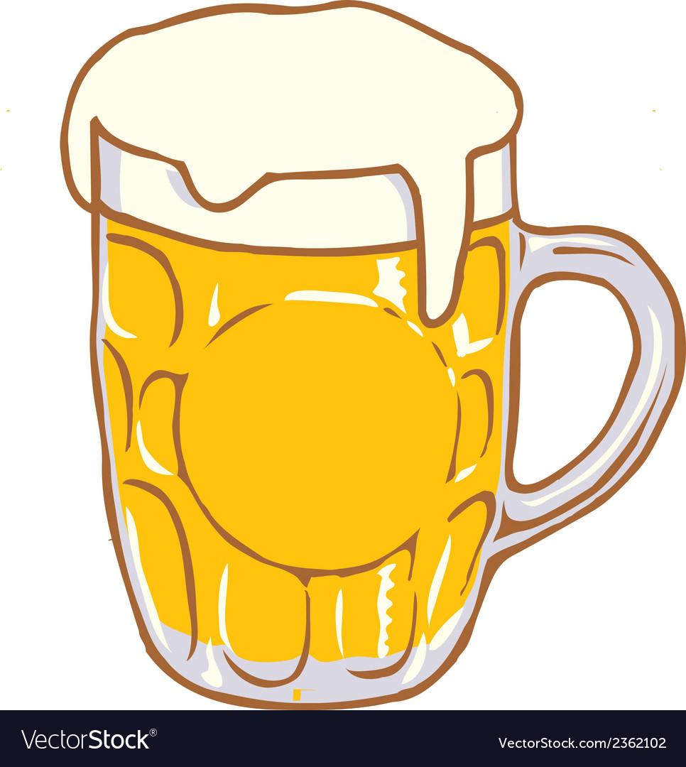 Beer Mug Pint Clipart Design D.
