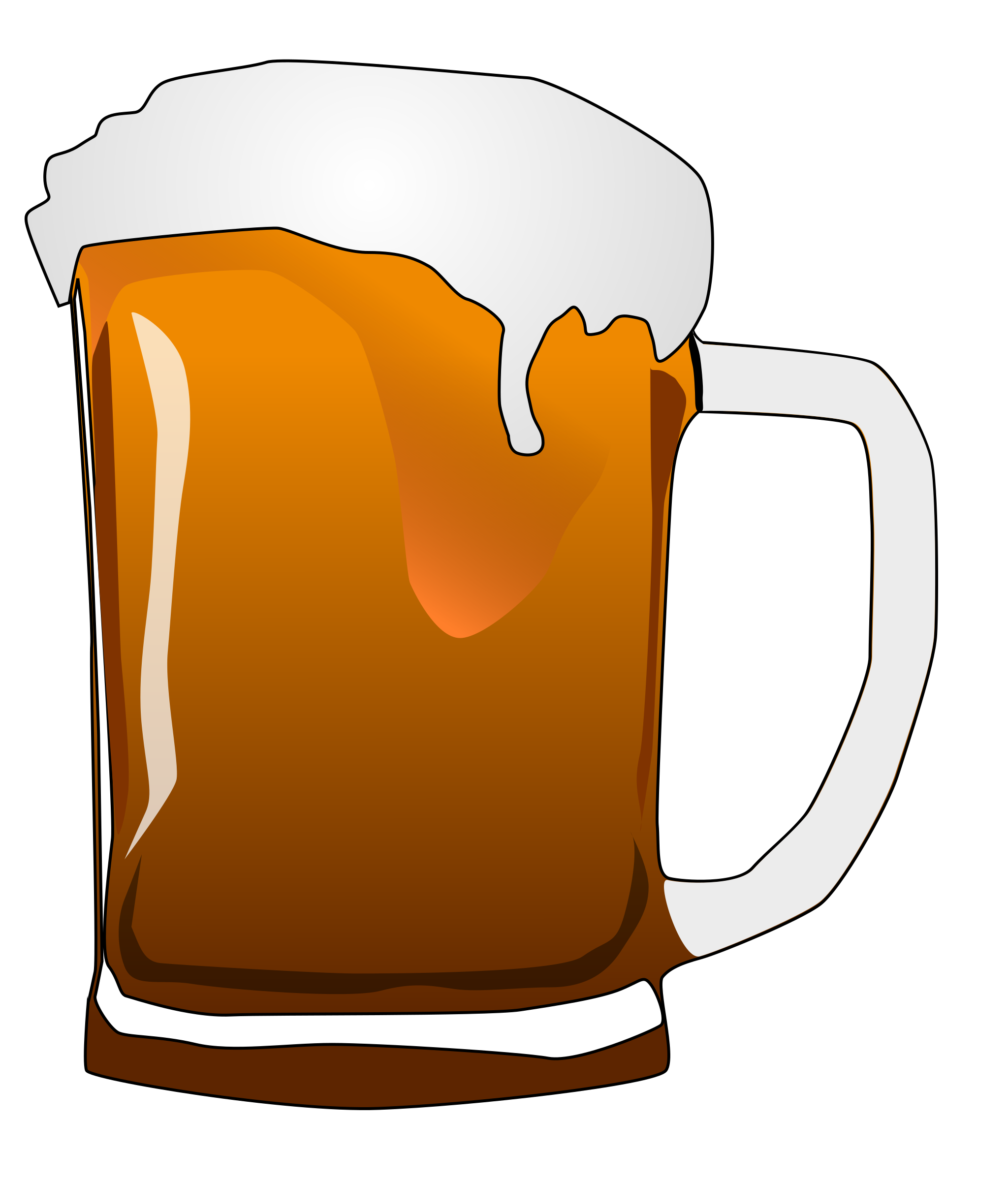 Pitcher Of Beer Clipart.