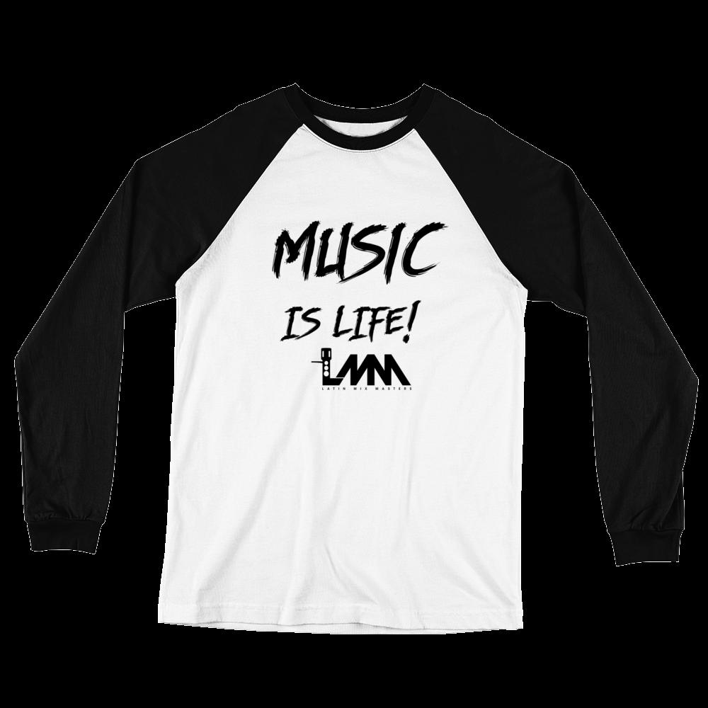 Men's Premium LMM Logo Long Sleeve Baseball Jersey T.