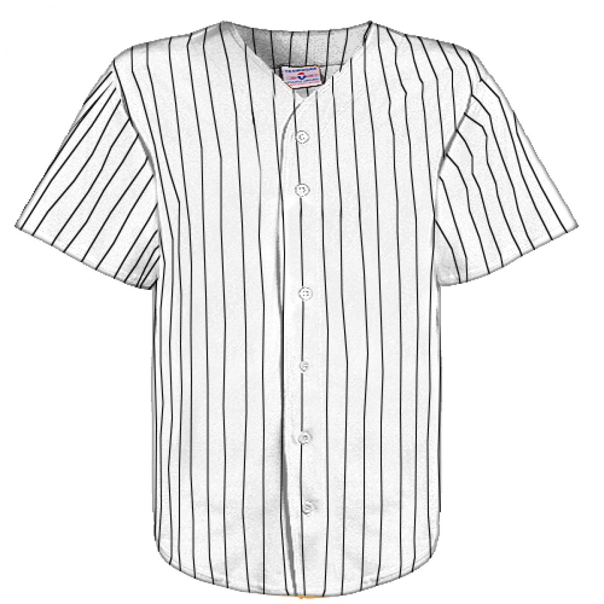 Pinstripe Baseball Jersey Png & Free Pinstripe Baseball Jersey.png.
