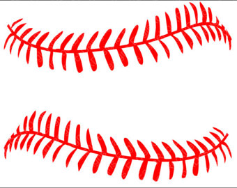 102 Baseball Laces free clipart.