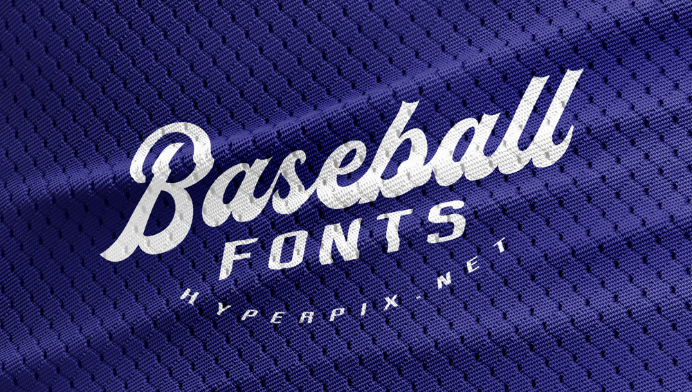 40+ Best Free and Premium Baseball Fonts 2019.