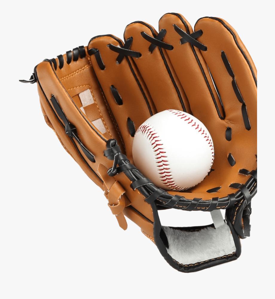 A Baseball Glove With A Ball Inside It.
