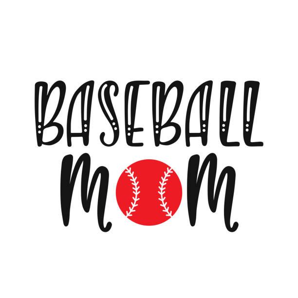 Baseball Mom Illustrations, Royalty.