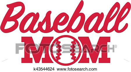 Baseball Mom Clipart.