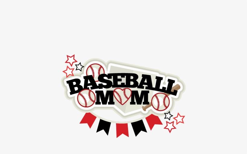 Baseball Mom Title Svg Scrapbook Cut File Cute Clipart.