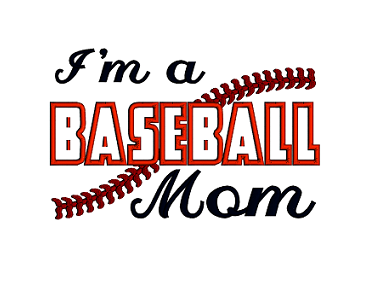 Download Free png Baseball Mom Applique Machine.