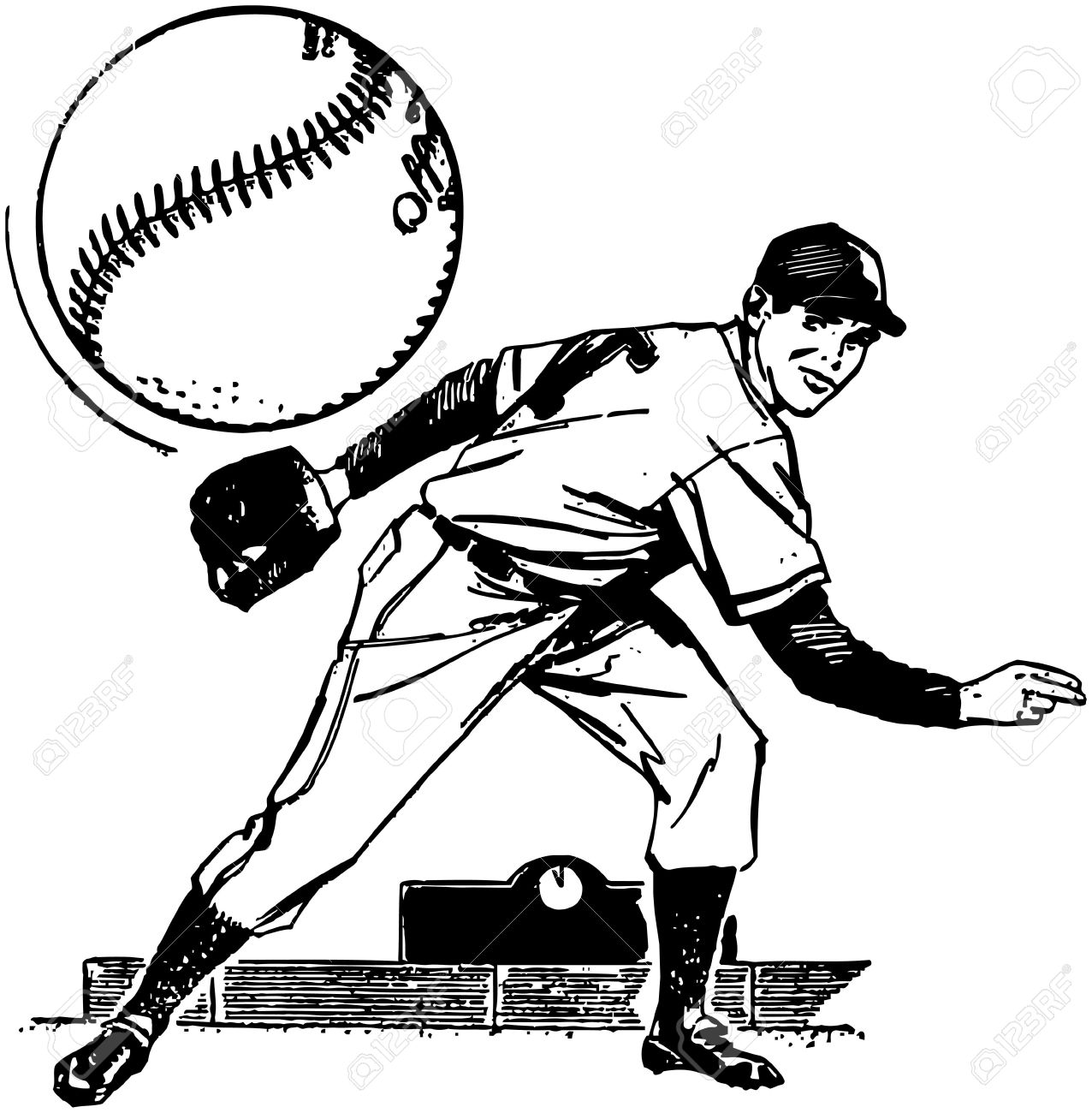 Baseball Pitcher.