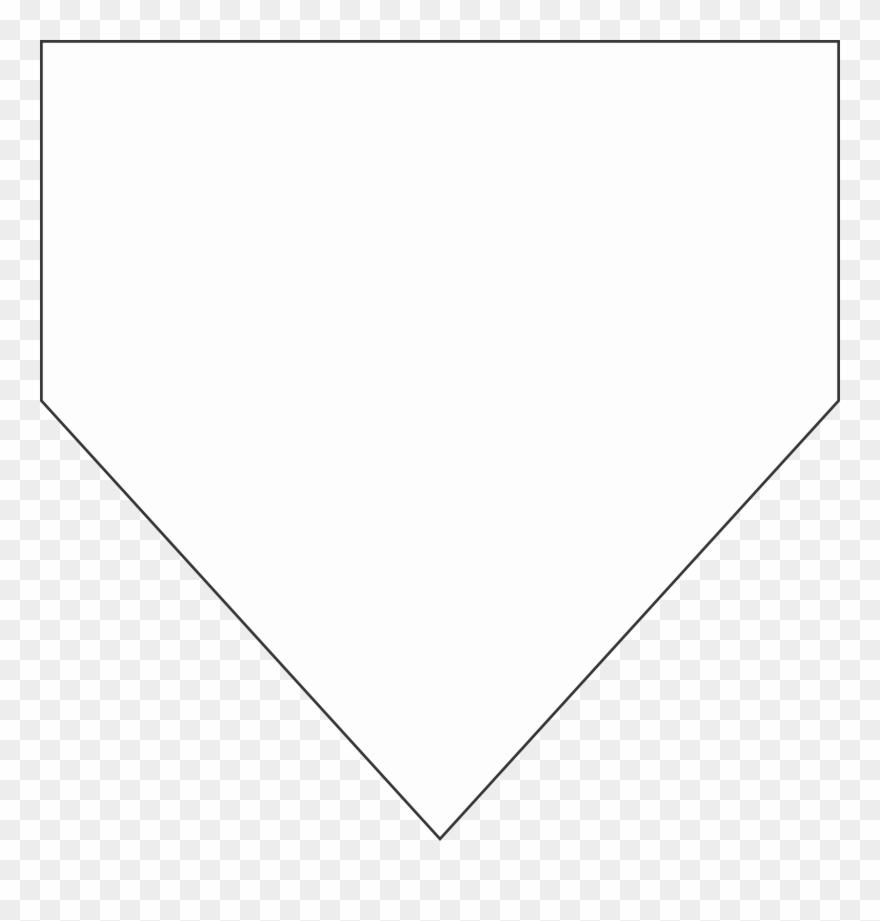 Baseball Home Plate Pennant.