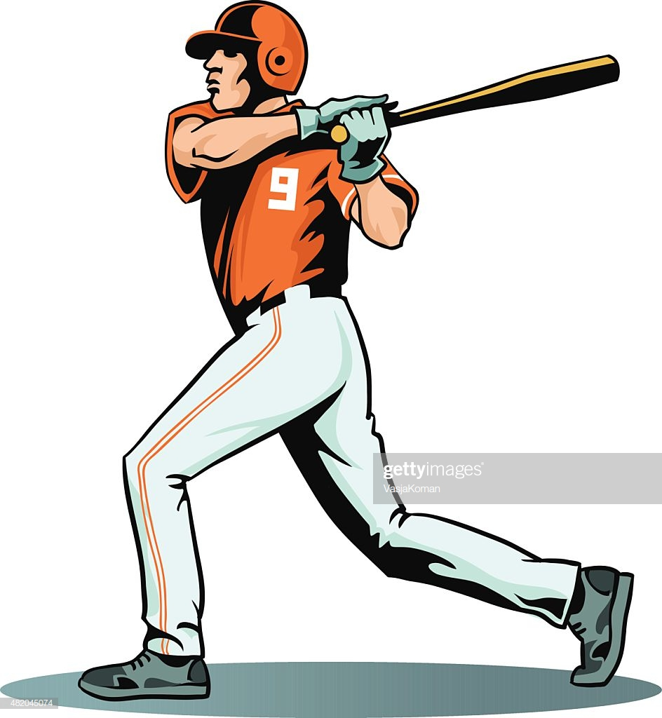 60 Top Baseball Player Stock Illustrations, Clip art, Cartoons.