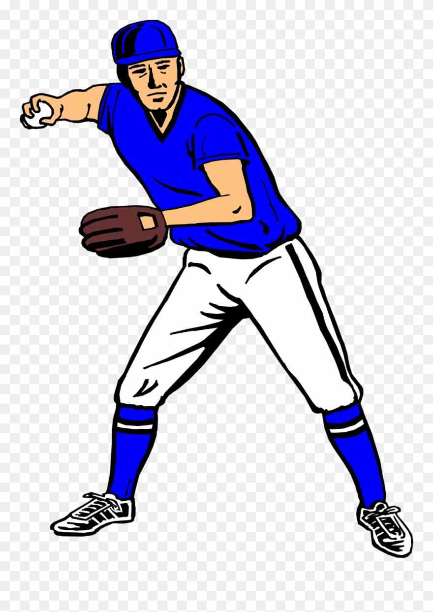 Baseball Player Clipart 2 Clipartix Png 958 1310 Pictures.