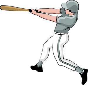 Baseball player images clip art.