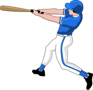 Free Baseball Player Clipart Pictures.
