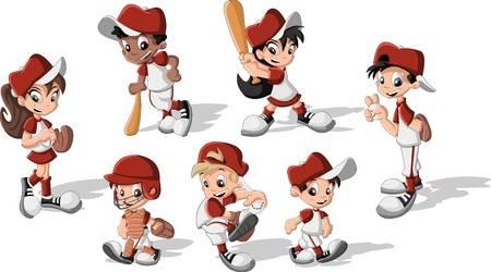 11,706 Baseball Player Cliparts, Stock Vector And Royalty Free.