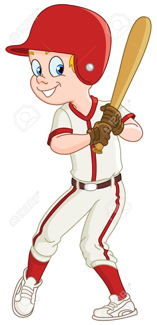 Baseball Player Clipart 23.